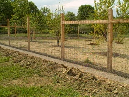 Country Views Inc Custom Fence Building